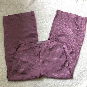 ASOS wide leg antique pink pants . Size : 4